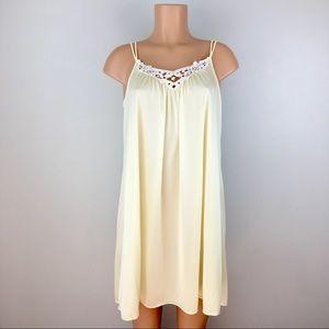Vintage Shadowline Nightie Nightgown Nylon